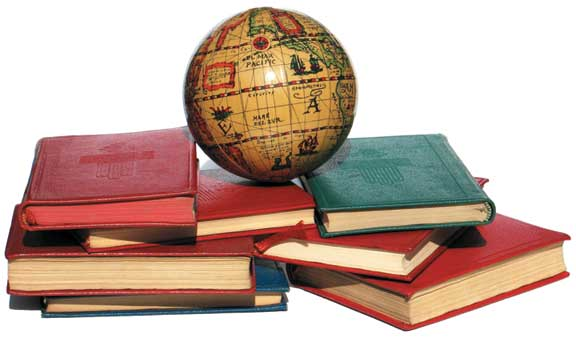 globe-&-books