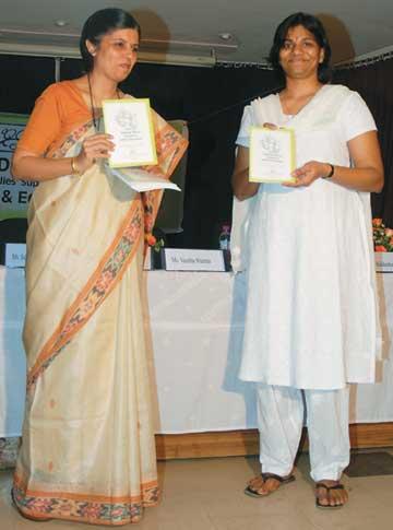 Mrs. Vanditha Sharma releasing