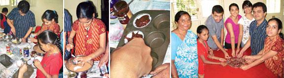 cake-making