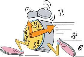 clock-running