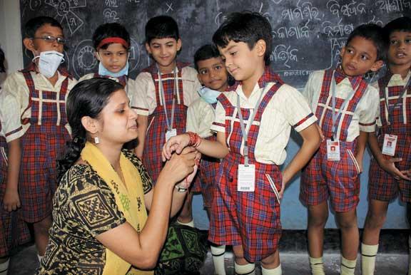tieing-rakhi
