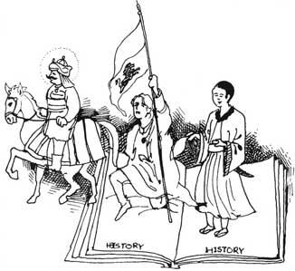 Reading into history
