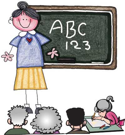 teacher-&-students_catoon