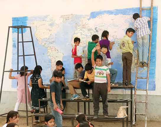 World on a Wall