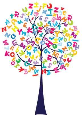 tree-with-alphabets