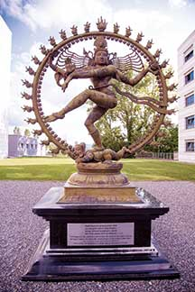 nataraja-at-CERN