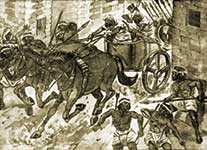 imaginary-depiction-of-Aryans-invading-Indus-cities