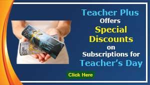 Teacher's Day Discount