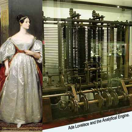 Ada-lovelace-and-the-Analytical-engine
