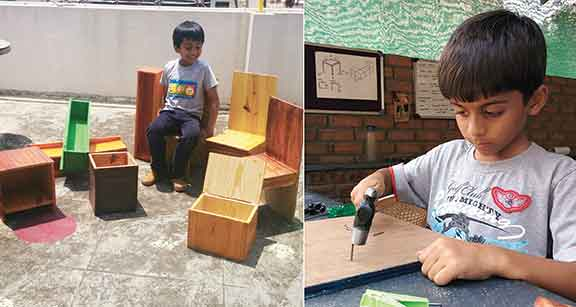 Childrens-wood-working-workshops