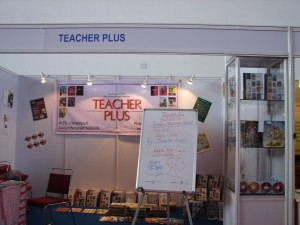 The Teacher Plus stall