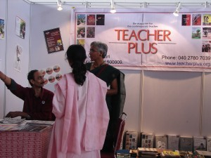 Teacher Plus stall